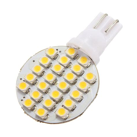 20x t10 194 921 168 w5w 24 smd led warm white rv