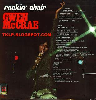 gwen mccrae rockin chair original version tk albums