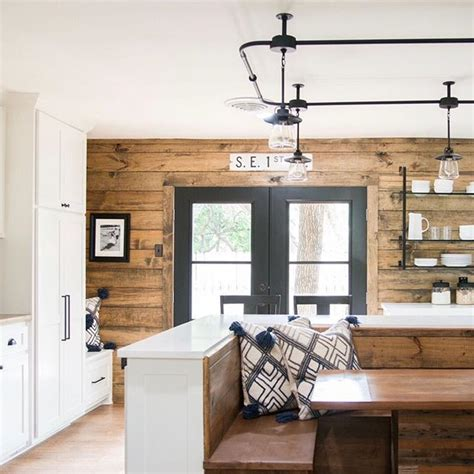 Stained Shiplap by Websta Magnolia We This Kitchen From Last Week S