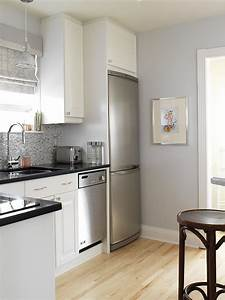 gray kitchen contemporary kitchen aidan design With kitchen colors with white cabinets with blue and gray wall art