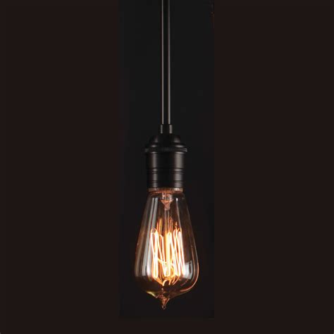 retro edison filament 60 watt light bulb by