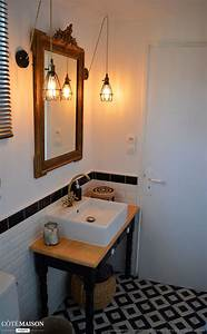 une salle de bain au style retro chic industriel laura With salle de bain industrielle