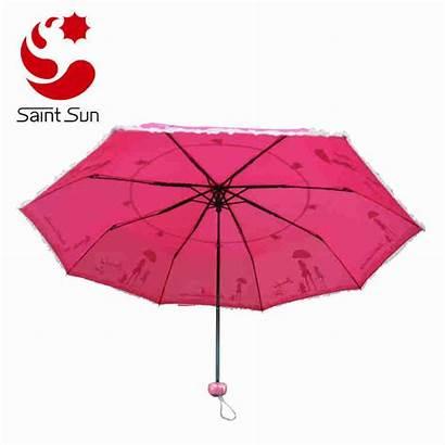 Umbrella Foldable Printing Silk Screen Umbrellas Fill