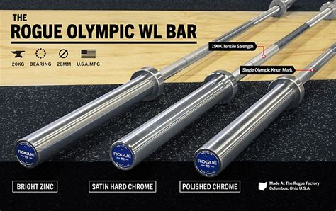 olympic bar weightlifting barbell does much weigh bars types barbells strength various lympic rogue wl check training