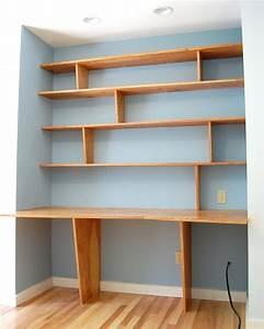 Bücherregal Selber Bauen Holz : schreibtisch selber bauen 57 kreative ideen und anleitungen ~ Lizthompson.info Haus und Dekorationen