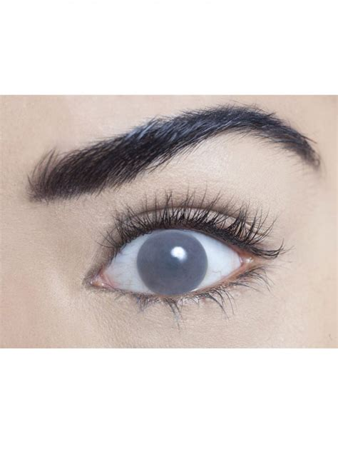 blind eye contacts grey blind contact lenses one day wear