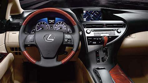 lexus rxh interior