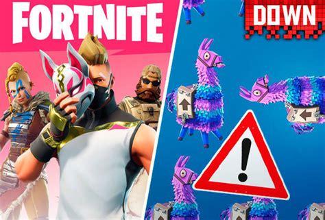 fortnite  servers status offline epic games update
