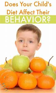 Does Your Child's Diet Affect Their Behavior?