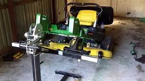 John Deere Z255 Deck Belt Repair