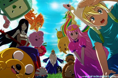 Adventure Time Wallpaper Anime - adventure time with finn and jake images adventure time