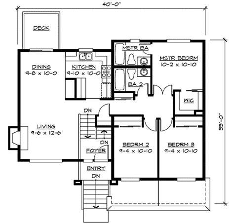 split level home plans split level home plan 23441jd architectural designs