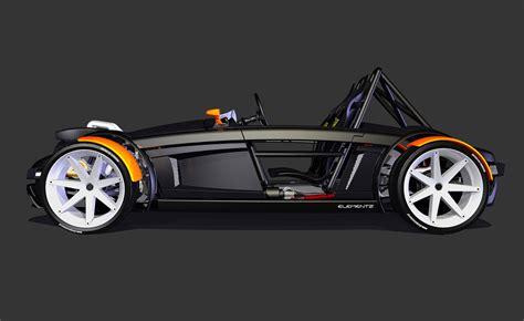 Sports Car Burton Elementz