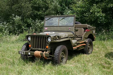 Jeep Ww2 Willys Retro Military Wallpaper