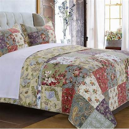 Quilt Floral Twin Meadows Queen King Sets