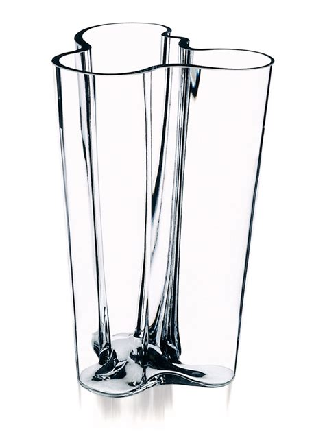 Aalto Vases - iittala aalto finlandia clear vase 10 quot iittala alvar