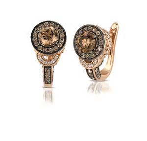 Le Vian Chocolate Diamond Rose Gold Earrings