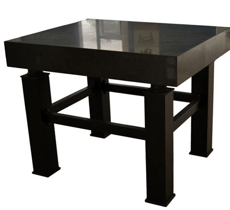 vibration isolation optical table with black granite