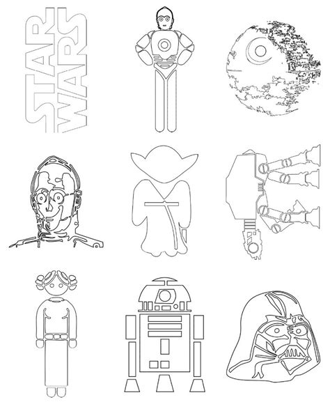 disegni da colorare e stare wars disegni da colorare gratis