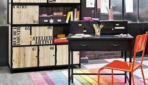 Papier Peint Style Industriel : chambre ado style industriel chambre style industriel ~ Dailycaller-alerts.com Idées de Décoration