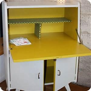Meubles vintage gt bureaux tables gt petit secretaire for Meuble scandinave annee 50 14 secretaire vintage design des annees 50 60 vendu