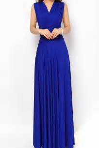 bridesmaid dresses in royal blue royal blue maxi bridesmaid dresses infinity convertible dress lg 23 73 80 infinity dress