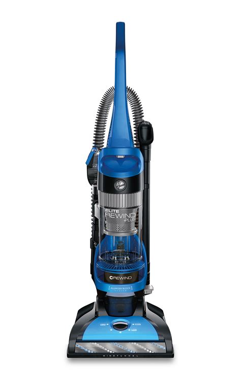 hoover vaccum hoover elite rewind plus bagless upright vacuum uh71200