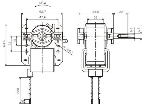 shaded pole motor wiring diagram 32 wiring diagram