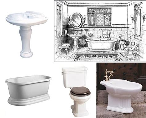 Matching Bathroom Fixtures by Edwardian Bathroom Design Authentic Period Design For