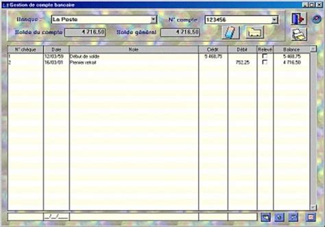 t 233 l 233 charger comptes bancaires et credits pour windows shareware