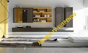 Mur Tv Ikea : dix meubles tv suspendus au mur ~ Teatrodelosmanantiales.com Idées de Décoration