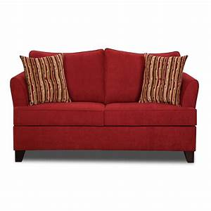red barrel studio simmons upholstery antin loveseat With simmons red sectional sofa