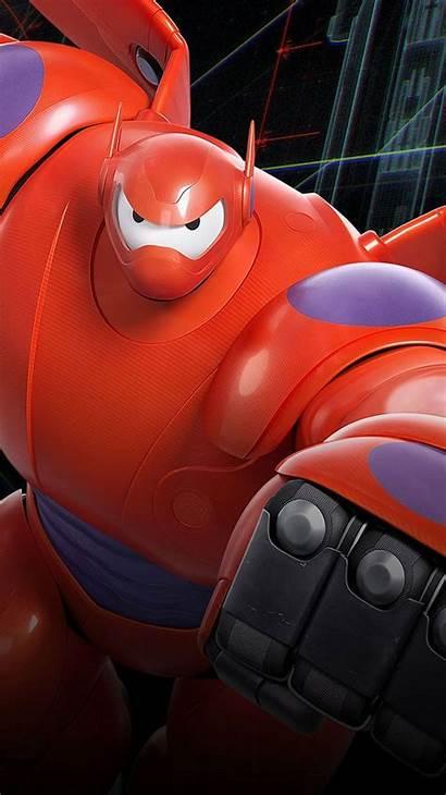 Hero Iphone Baymax Wallpapers Disney Whatsapp Robot