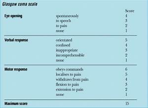 How, To, Calculate, A, Glasgow, Coma, Scale, Gcs, Score, U2013, First