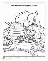 Dinner Coloring Thanksgiving Pages Plate Worksheet Getcolorings Printable Christmas Getdrawings Visit sketch template