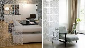 Séparateur De Pièce Ikea : le rideau une s paration d co et facile faire ~ Dailycaller-alerts.com Idées de Décoration