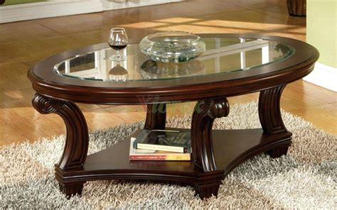 Our solid wood coffee tables are handcrafted in vermont and guaranteed to last a lifetime. 30 Collection of Oval Glass and Wood Coffee Tables