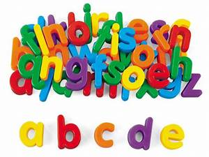 Magnetic letters lowercase baby kids pinterest for Magnetic letters for babies