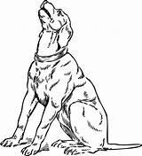Dog Barking Clipart Coloring 1450 Svg sketch template