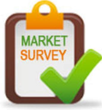 Sle Of Market Survey Report by Market Survey Report Services Market Survey Tender News