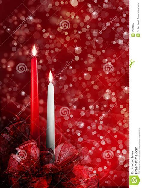 christmas candles royalty  stock photo image