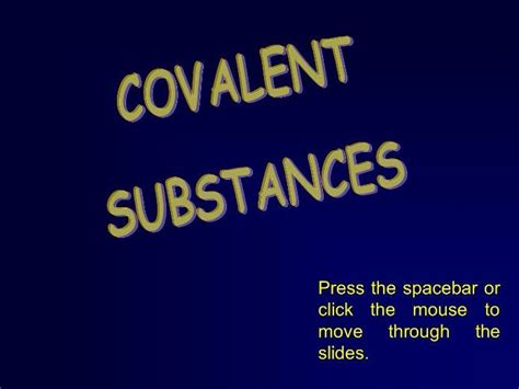 Forming Covalent Bonds   Teaching Resources