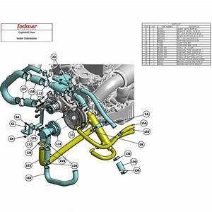 Indmar Gasket Circ Pump