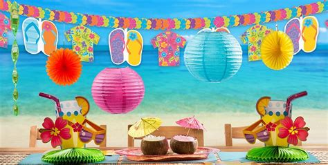 photo beach theme cutouts  parties beach party theme