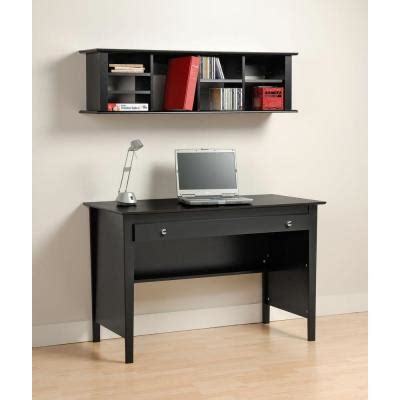 black wall mounted desk prepac wall mounted desk hutch in black bhd 1348 the