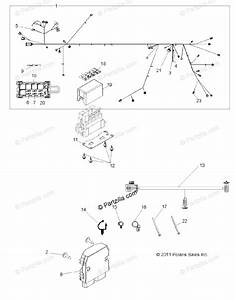 Polaris Side By Side 2013 Oem Parts Diagram For Electrical  Wire Harness R13xe7eai