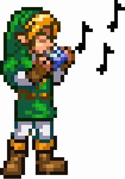 Zelda Pixel Link Characters Legend Bits Pokemon
