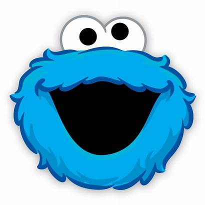 Cookie Monster Face Clipart Elmo Cara Sesame