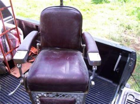 Emil J Paidar Barber Chair Headrest by Antique Emil J Paidar Barber Chair Headrest Paidar