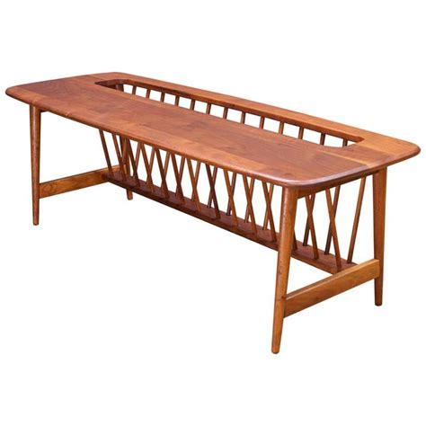 magazine rack table l monumental cabin modern mid century magazine rack walnut